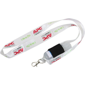25Mm Lanyard Pouch With 50Ml Sanitiser