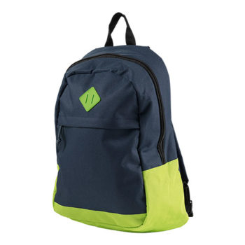 600D Backpack With Zippered Front Pocket