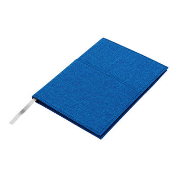 A5 Melange Notebook With Front Pocket