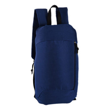 Backpack With Side Zip
