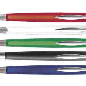 Ballpoint Pen With Coloured Translucent Barrel