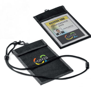 Bliss Conference Pouch and Lanyard