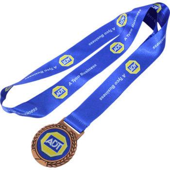 Bronze Satin Ribbon Medal