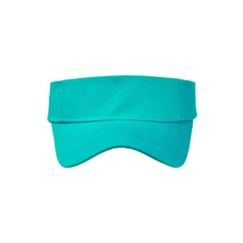 Brushed Cotton Twill Sunvisor And Self  Fabric Velcro Strap
