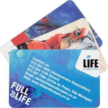Business Card Fridge Magnet