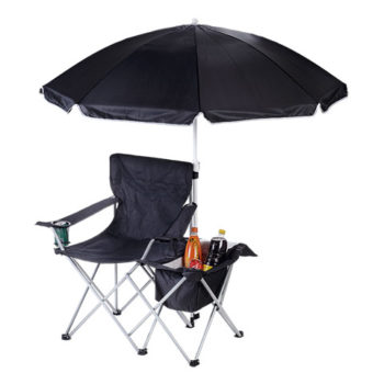 Camping Chair With Umbrella And Cooler