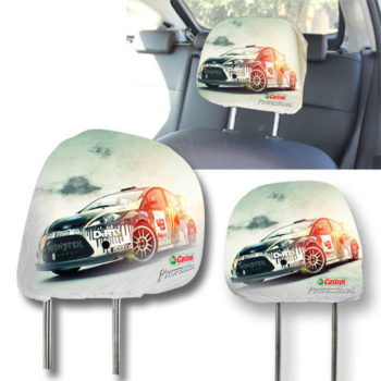 Car Headrest Cover With Fc