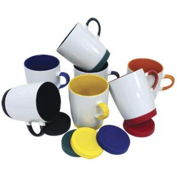 Ceramic Mug with Matching Base