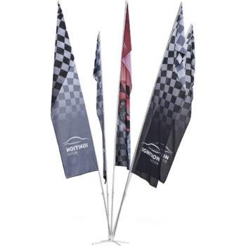 Champion 5 Flag Fountain 6M Large (1M X 4M Flags)