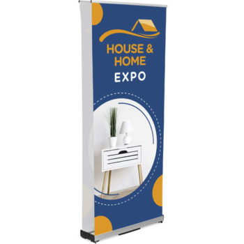 Champion Fabric Pull Up Banner Double Sided Incl Kit