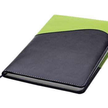 Colour Accent Wave Design Notebook