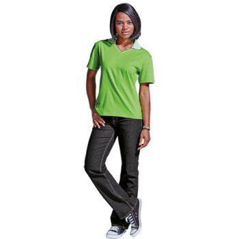 Colour Stripe Golf Shirt