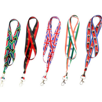 Country Flag Lanyards