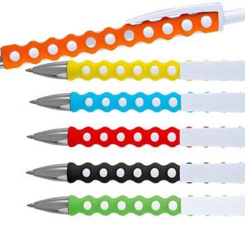 Crisscross Grip Ballpoint Pen
