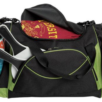 Curved Front Pocket Sports Bag