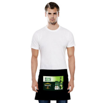 Delan Half Apron With Sublimated Pocket