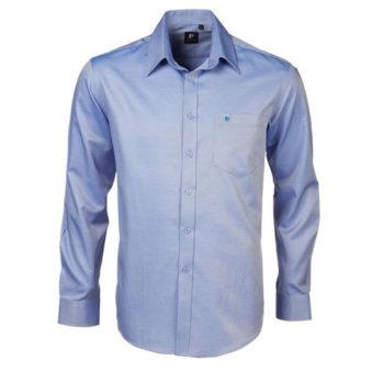 Diagonal Self-Stripe Pierre Cardin Shirt