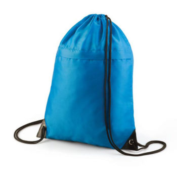 Drawstring Backpack With Zip