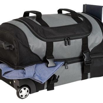 Dual Strap Double Decker Trolley Bag