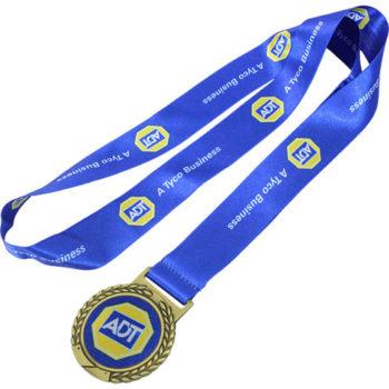 Gold Satin Ribbon Medal