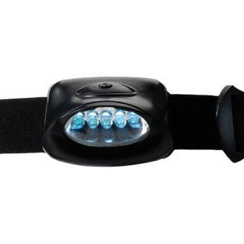 Head Lamp with 5 LED Lights