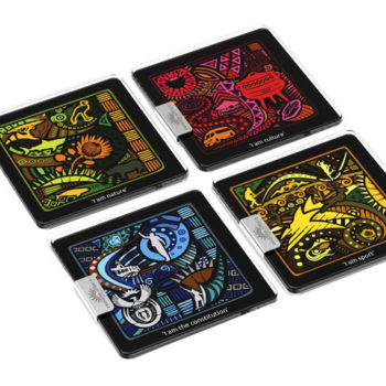 I Am South African Glass Coasters