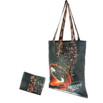 Indigo Full Colour Foldable Shopper