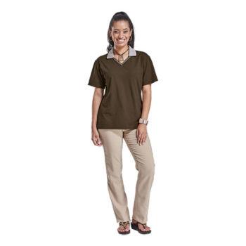 Jacquard Collar Golf Shirt