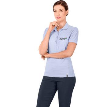 Jacquard Ladies Golf Shirt