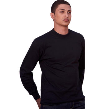 Jts Long Sleeve Combed Cotton T-Shirt