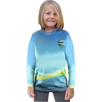 Junior Crew Neck Long Sleeve T Shirt