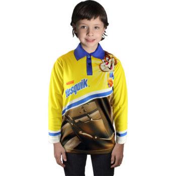 Junior Long Sleeve Golf Shirt