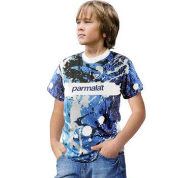 Junior Unisex Short Sleeve Moisture Management Crew Neck T-Shirt