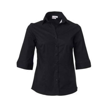 Ladies 3/4 Sleeve Abbey Blouse