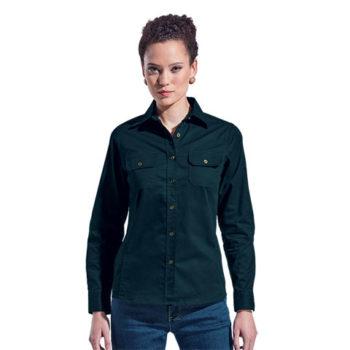 Ladies Bush Shirt Long Sleeve