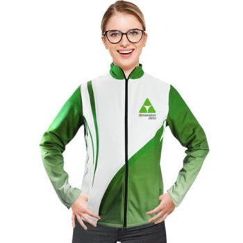 Ladies Indigo Sublimated Soft Shell Jacket