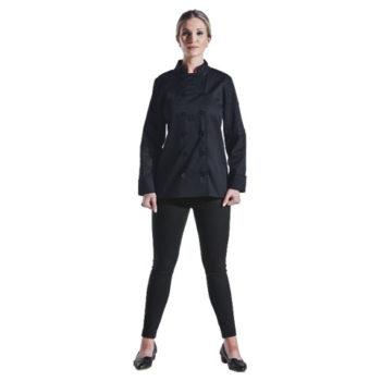 Ladies Long Sleeve Savona Chef Jacket