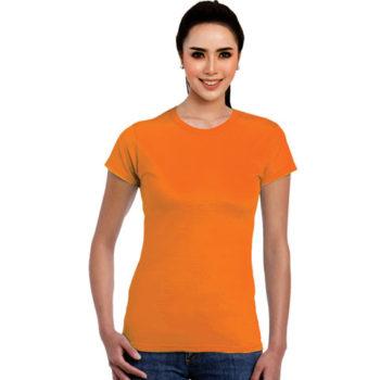 Ladies Movobright Moisture Management Crew Neck T-Shirt