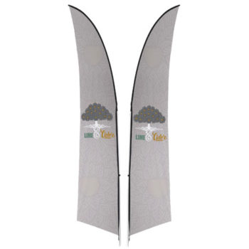 Legend 3M Arcfin Double Sided Flying Banner