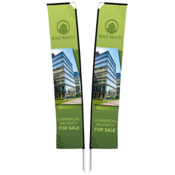 Legend 4M Telescopic Double Sided Flying Banner