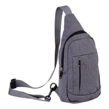 Melange Shoulder Bag With Front Pocket