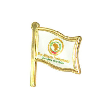 Metal Flag With Magnetic Pin