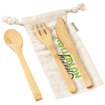 Okiyo Nakama Bamboo Cutlery Set