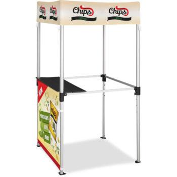 Ovation Gazebo 1 X 1M Kiosk 1 Half Wall