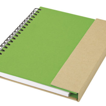 Recycled Notebook With Magnetic Flap