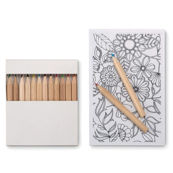 Relax Colouring Set