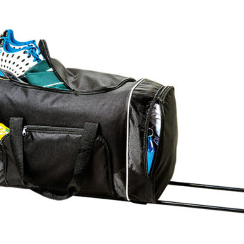 Rolling Duffel with Zippered Front Pocket