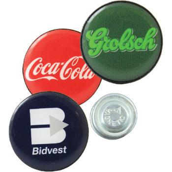 Round Lapel Badge