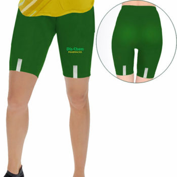 Short Tights With Reflective Strip