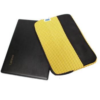 Shweshwe Laptop Sleeve With Leatherette